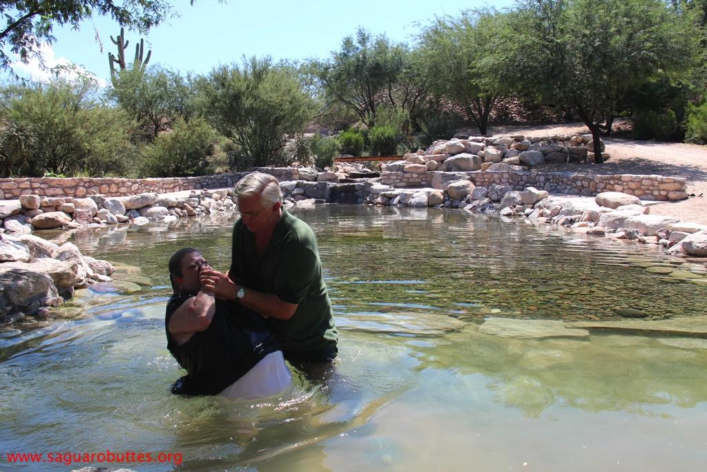 Bobby's Baptism